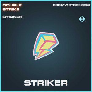 Striker rare sticker Call of Duty Modern Warfare Item