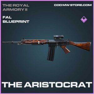 The Aristocrat FAL blueprint Call of Duty Modern Warfare Item