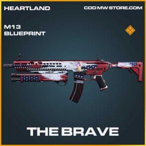 The Brave legendary M13 call of duty modern warfare item