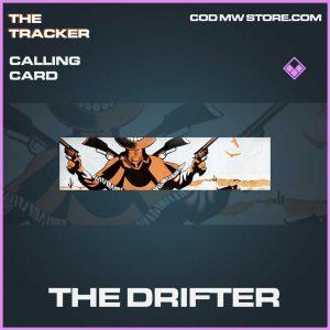The drifter calling card epic call of duty modern warefare item