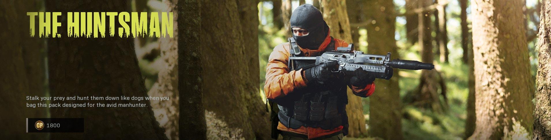 The huntsman featured call of duty modern warfare item bundle