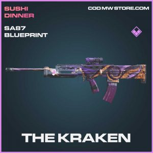 the krake sa87 skin epic blueprint call of duty modern warfare item