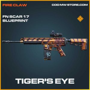 Tiger's Eye legendary call of duty modern warfare item