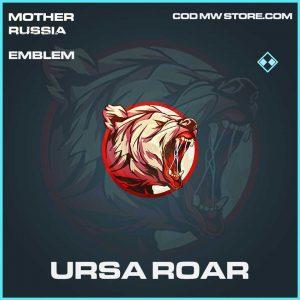 URSA Roar emblem rare call of duty modern warfare mother russia item