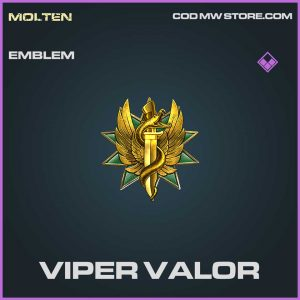 Viper Valor epic emblem Call of Duty Modern Warfare item