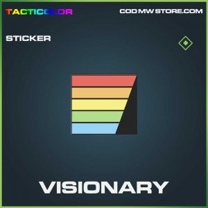 visionary common sticker call of duty modern warfare item