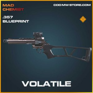 Volatile .357 legendary skin call of duty modern warfare blueprint