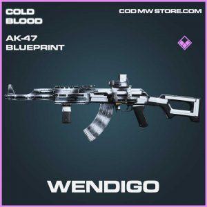 wendigo epic ak-47 blueprint call of duty Modern Warfare item