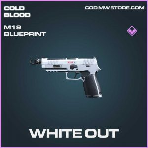 White Out m19 epic blueprint call of duty Modern Warfare item