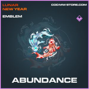 Abundance emblem epic call of duty modern warfare item