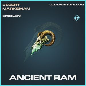 Ancient Ram rare emblem call of duty modern warfare item