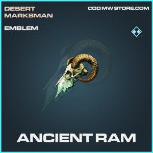 Ancient Ram rare emblem call of duty modern warfare item