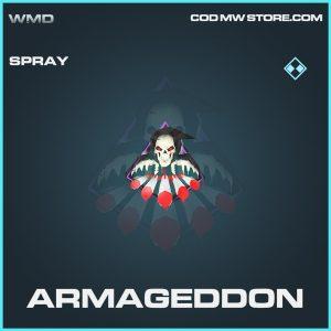 Armageddon spray rare call of duty modern warfare item