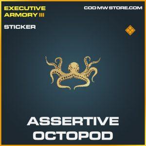 assertive octopod sticker legendary legendary call of duty modern warfare item