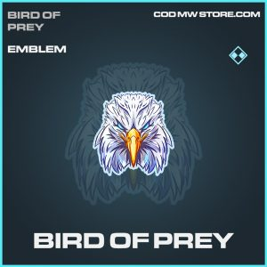 Bird of Prey rare emblem call of duty modern warfare item