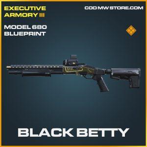 black betty model 680 skin legendary blueprint call of duty modern warfare item