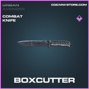 Boxcutter epic combat knife call of duty modern warfare item