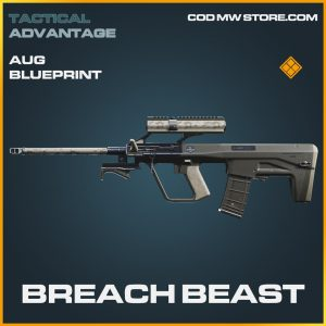 Breach beast aug skin legendary blueprint call of duty modern warfare item