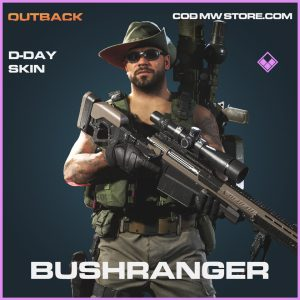 Bushranger D-Day skin epic blueprint call of duty modern warfare item