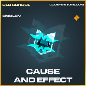 Cause and effect emblem legendary call of duty modern warfare item