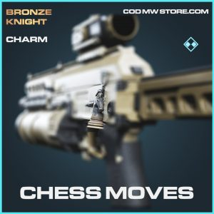 Chess Moves rare charm call of duty modern warfare item
