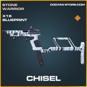 Chisel X16 Skin legendary bluepritn call of duty modern warfare item