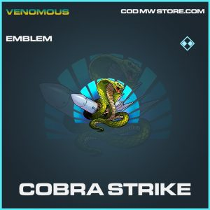 Cobra Strike rare emblem call of duty modern warfare item