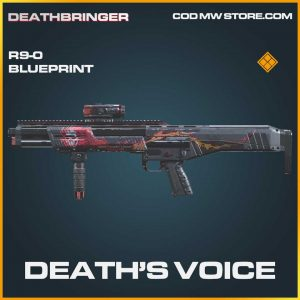 Deaths's Voice R9-0 skin legendary blueprint call of duty modern warfare item