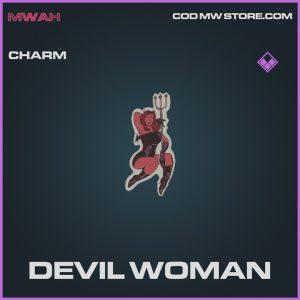 devil woman rare charm call of duty modern warfare items