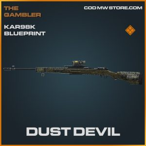 Dust Devil Kar98k skin legendary blueprint call of duty modern warfare item