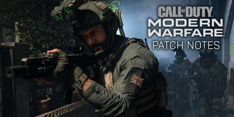 11 January 2020 – CoD Modern Warfare Patch Notes