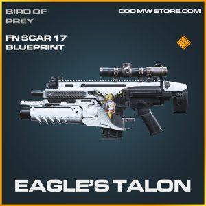 Eagle's Talon FN Scar 17 skin legendary blueprint call of duty modern warfare item