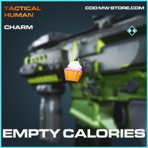 Empty calories charm rare call of duty modern warfare item