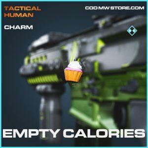 Empty calories charm rare call of duty modern warfare item