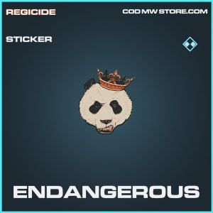 Endagnerous rare sticker call of duty modern warfare item