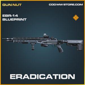 Eradication EBR-14 skin legendary blueprint call of duty modern warfare item