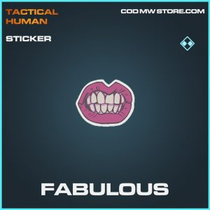 Fabulous sticker rare call of duty modern warfare item