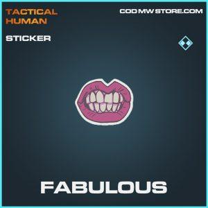 Fabulous sticker rare call of duty modern warfare item