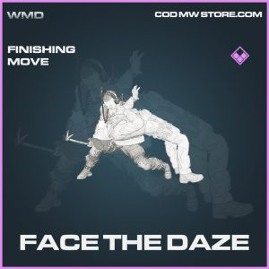 face the daze finishing move epic call of duty modern warfare item