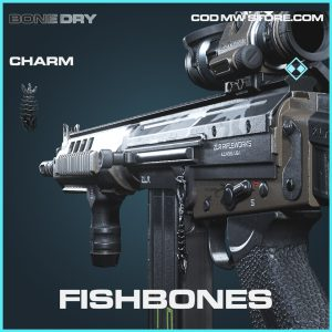 fishbones rare charm call of duty modern warfare item