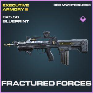 fractured forces FR5.57 skin epic blueprint call of duty modern warfare item