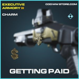 Getting paid charm rare call of duty modern warfare item