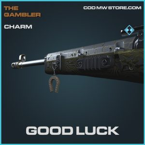 Good luck charm rare call of duty modern warfare item