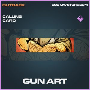 gun art epic calling card call of duty modern warfare item