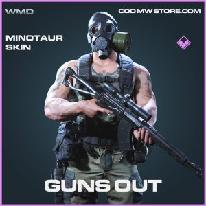 guns out minotaur skin epic blueprint call of duty modern warfare item