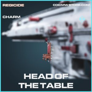 Head of the table rare charm call of duty modern warfare item