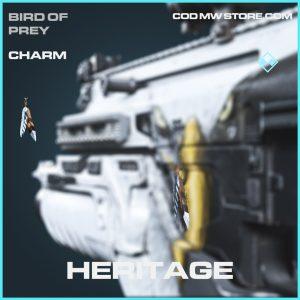 Heritage charm rare call of duty modern warfare item