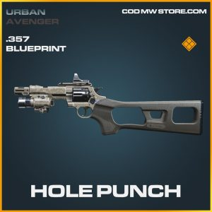hole punch .357 skin legenadry blueprint call of duty modern warfare item