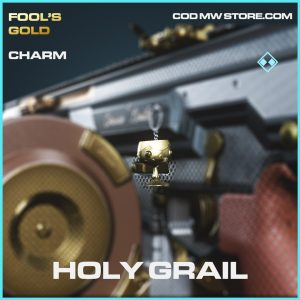 Holy Grail rare charm call of duty modern warfare item