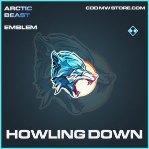 Howling down rare emblem call of duty modern warfare item